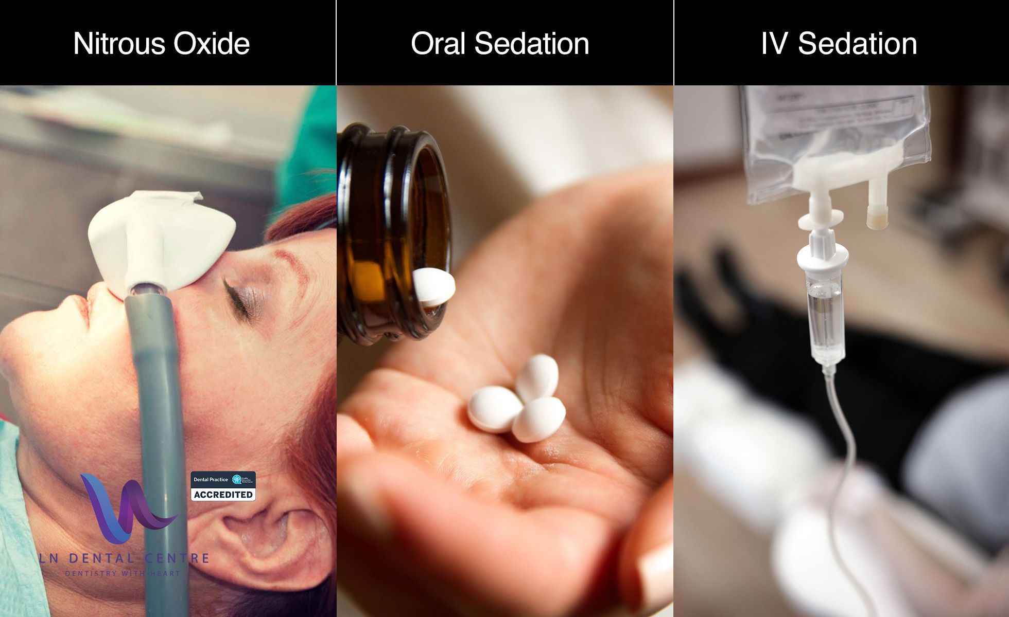 oral and IV sedation